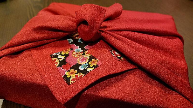L'art de l'emballage jazponais quotidien d'une expatriée you tube le furoshiki 4ART DE L4EMBA