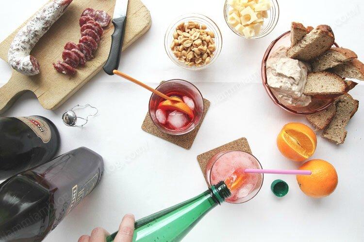 recette du Martini Spritz 00001 LE MIAM MIAM BLOG