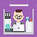 Mes créas : infographie sur les joies du coworking