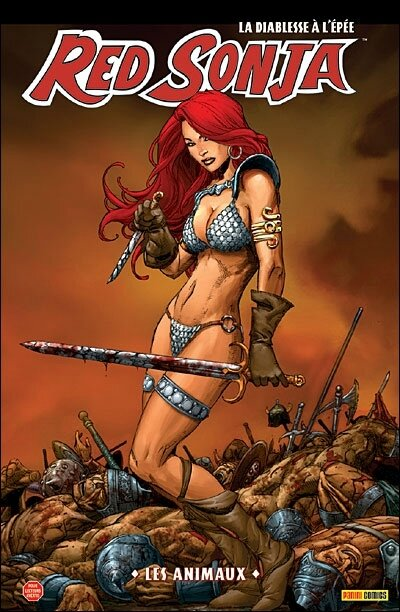 panini red sonja 04 les animaux