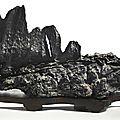 A large 'lingbi' scholar's rock, qing dynasty