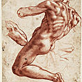 The cleveland museum of art features more than 50 drawings by italian renaissance artist michelangelo