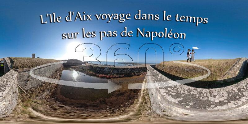 L'Ile d'Aix voyage dans le temps sur les pas de Napoléon