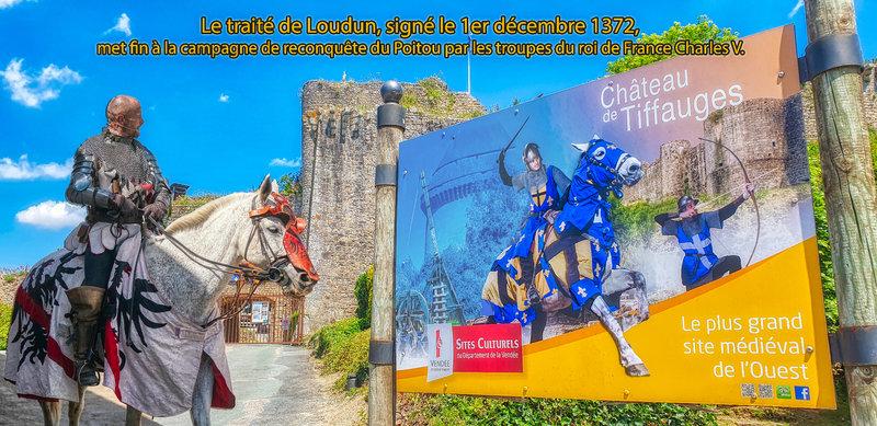 Le traité de Loudun, signé le 1er décembre 1372, met fin à la campagne de reconquête du Poitou par les troupes du roi de France Charles V