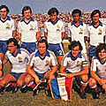 11 octobre 1980 CHYPRE-FRANCE ... MATCH DE QUALIFICATION POUR LA COUPE DU MONDE 1982