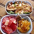 Bento n°47: la salade aux agrumes, on y prend goût.