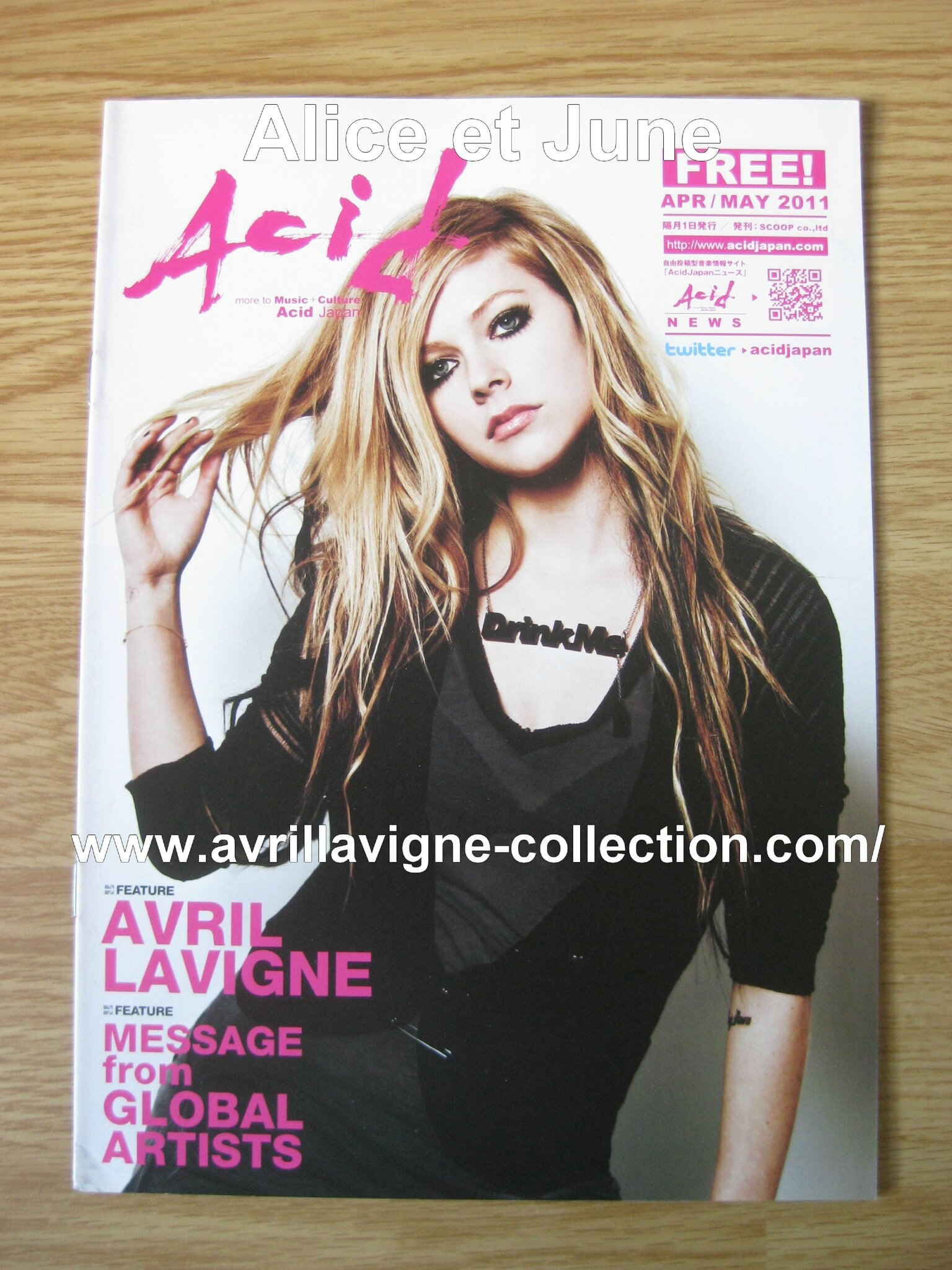Acid magazine-Japon (avril/mai 2011)