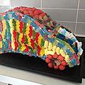 Gâteau de bonbon - voiture