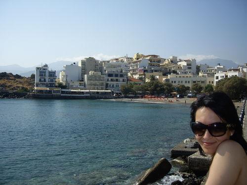 Agios Nikolaos à l'Est de l'île
