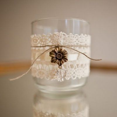 Lady_of_My_Life_Candle_Holder_by_LadyLotte_on_Etsy_Lace_Tea_Light_Flower_Twine_Wedding_Table_Decor