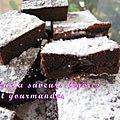 Gâteau hyper léger au fromage blanc et au chocolat