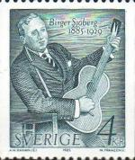 Timbre Suède Birger Sjoberg 1988