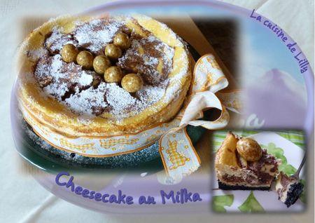 cheesecake au milka