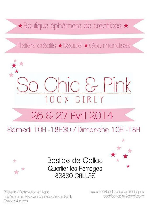 affiche so chic & pink