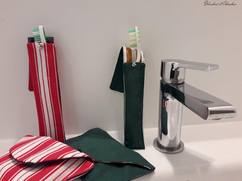 Portes savons et brosses à dents
