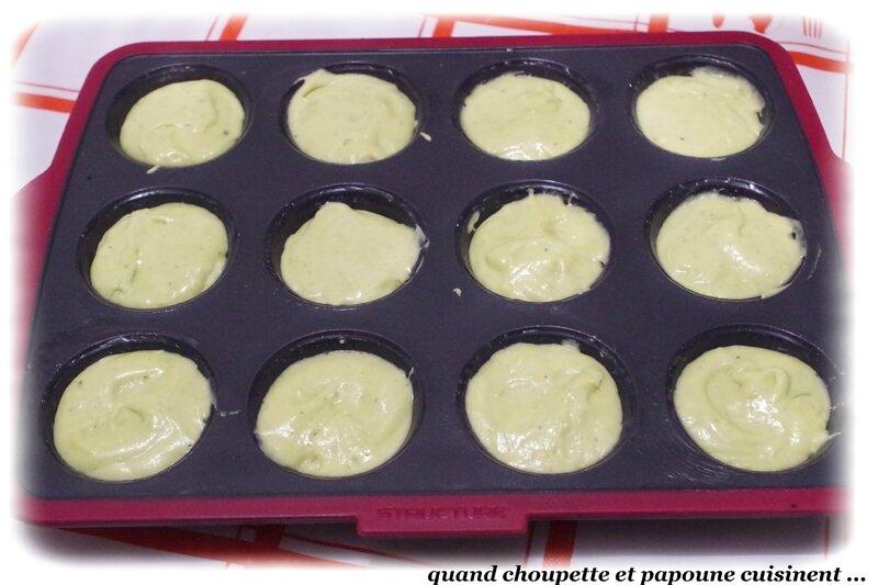 muffins à la pâte de pistache-7340
