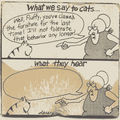 Gary larson and cats