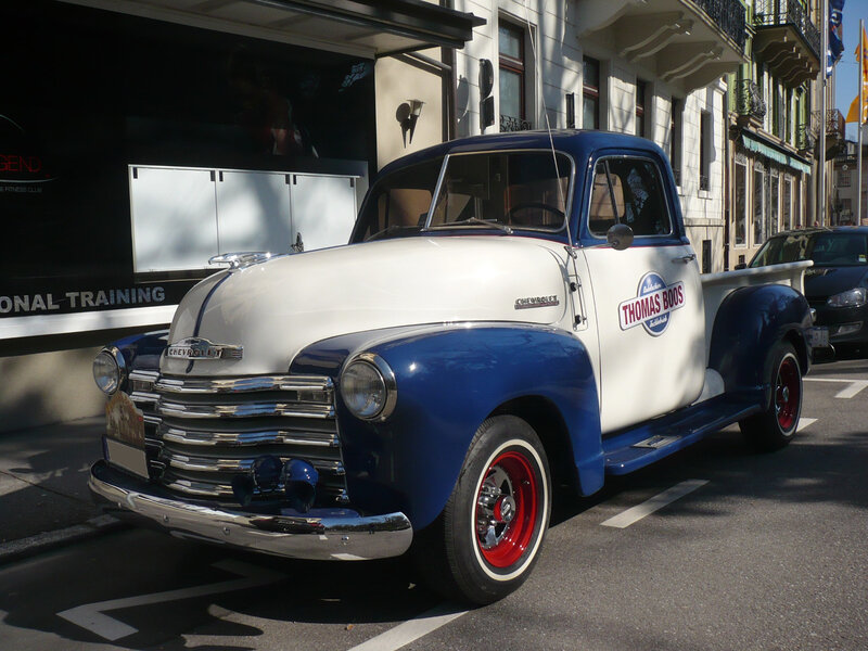 CHEVROLET 3100 Thriftmaster 2door pick-up Baden Baden (1)