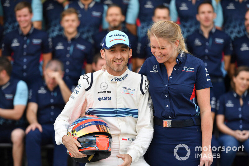 SOPHIE OGG AND ROBERT KUBICA