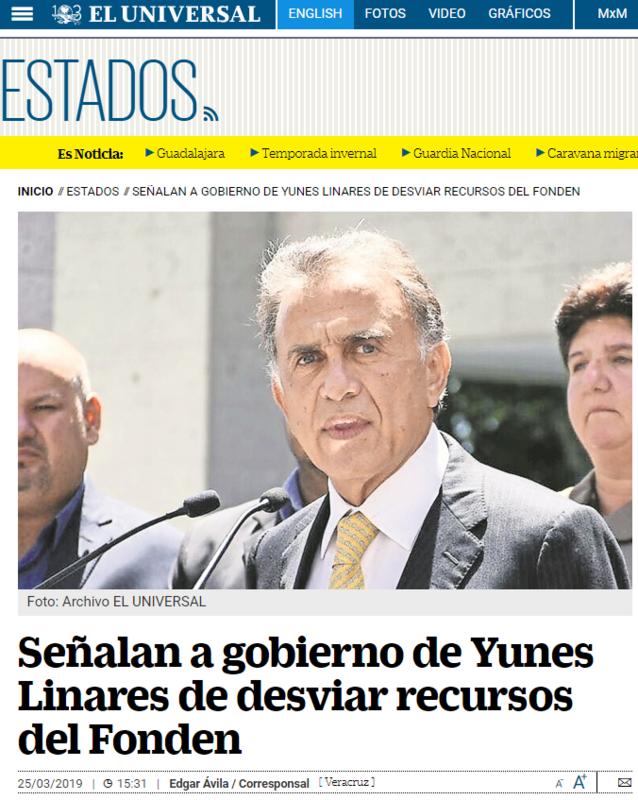 2019-04-10 21_57_56-Señalan a Miguel Ángel Yunes Linares de desviar recursos del Fonden