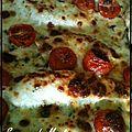 Escalopes de poulet mozzarella-parmesan