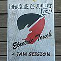 Electric touch en live le dimanche 5 juillet 2015 au pacific rock (cergy)