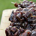 Funky barbecue – brochettes de bœuf façon tigre qui pleure