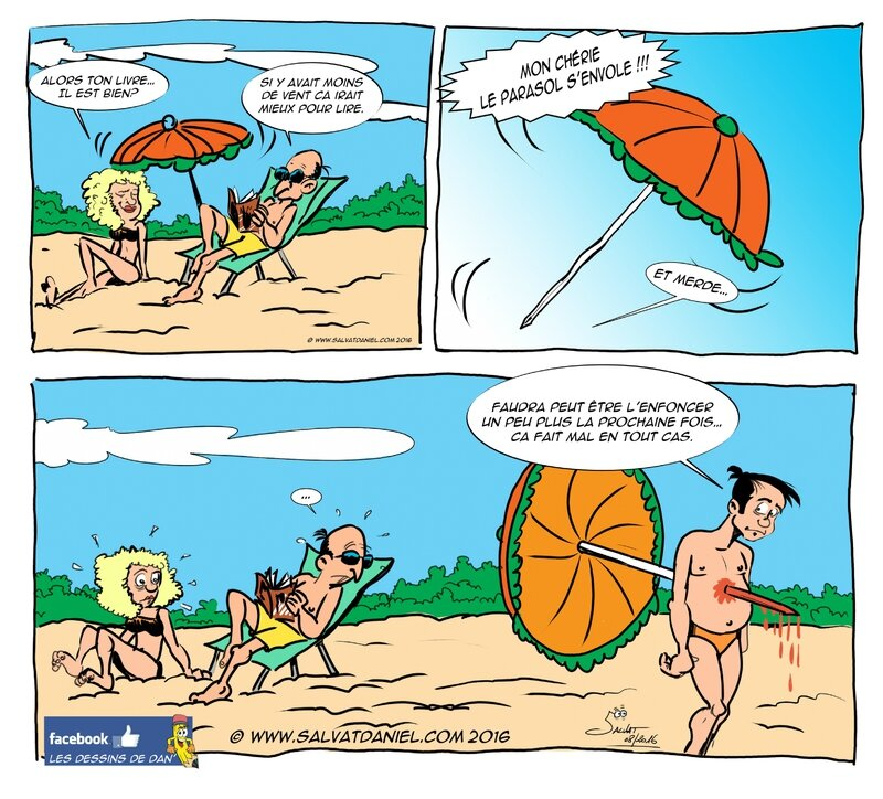 plage parasol