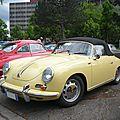 PORSCHE 356 C 1600 cabriolet Strasbourg (1)