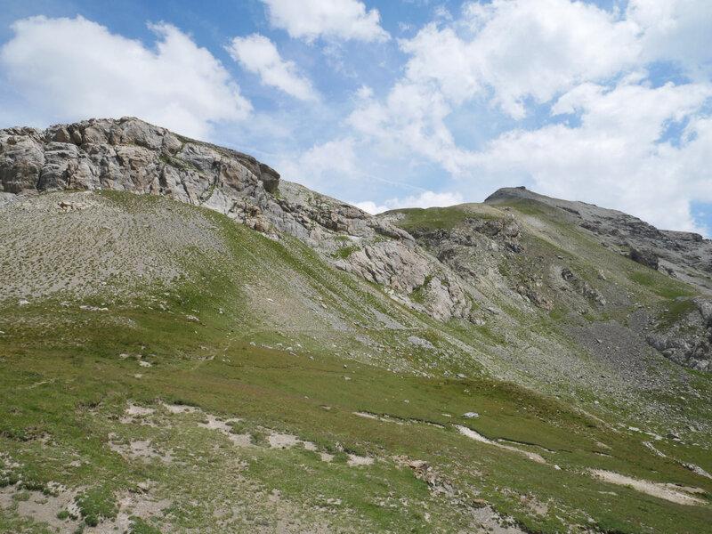 Col de Pelouse, et Cime de Pelousette