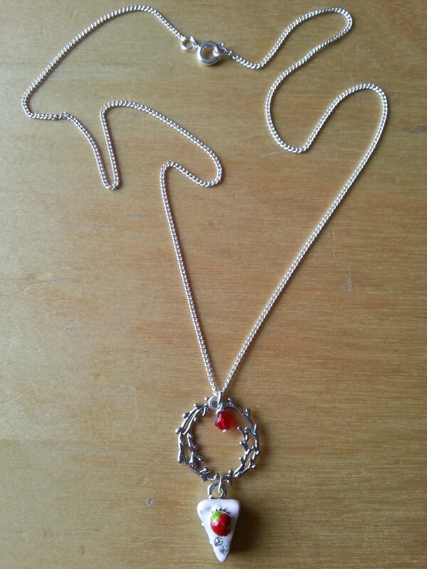 Collier gourmandise