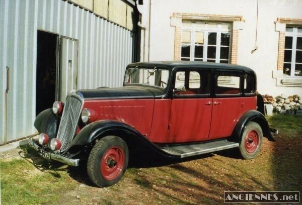 CITROEN Rosalie 11U - 1935