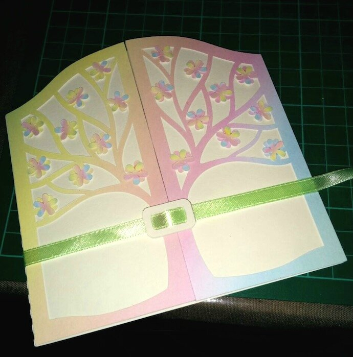 carte arbre multicolore - copie