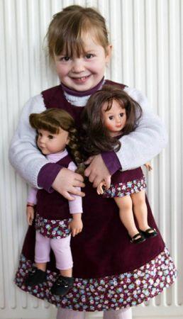 robe katell poupées