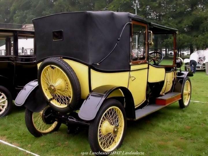 1910 - Lanchester 28HP Landaulette