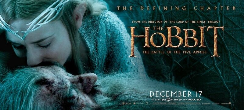 Banner Gandalf Galadriel The Hobbit The Battle of the Five armies