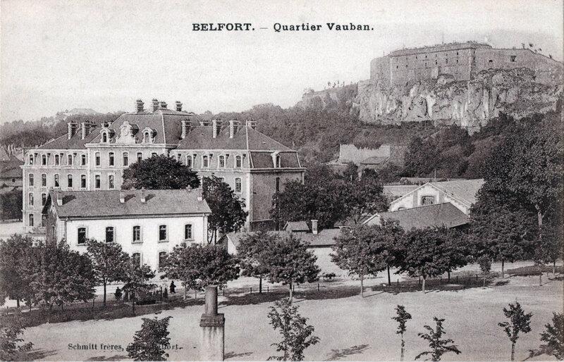 Belfort CPA Champ de foire 1914-22 R