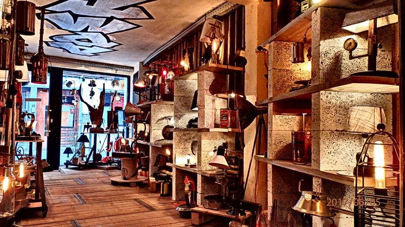 intérieur magasin