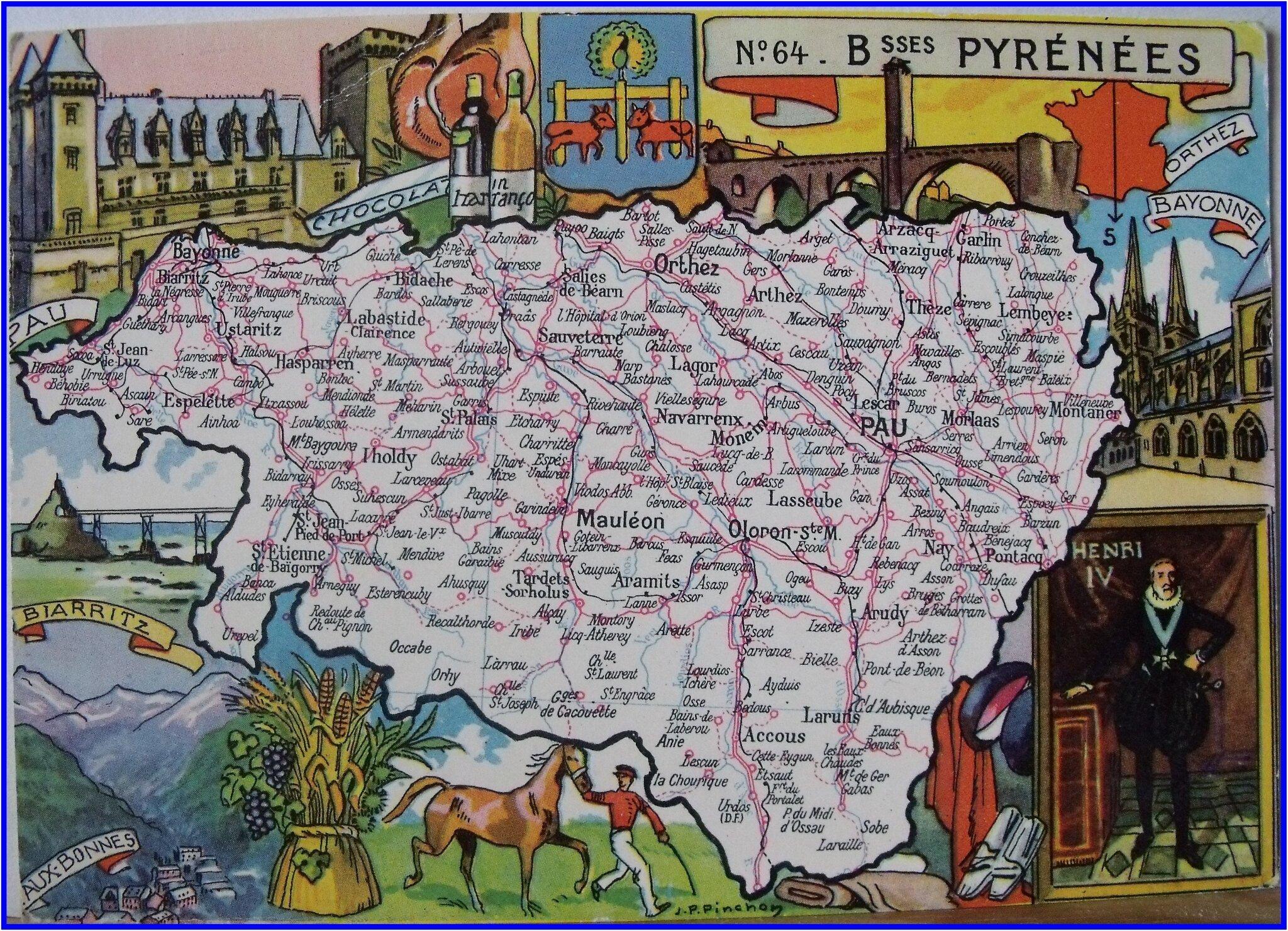 0 Pyrénees Atlantiques ex Basses Pyrénées