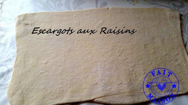 Escargots aux raisins 1