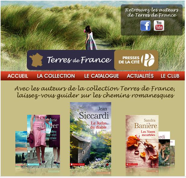 TERRES DE FRANCE - PRESSES DE LA CITE - SITE OFFICIEL