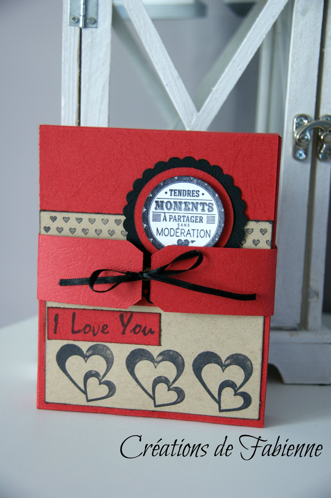 Mini et carte Saint Valentin