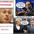 Ritournelles populistes quand le cac 40 déchante...