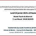 Invitation voeux de la fctb