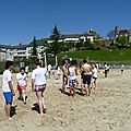 Beach volley lescar 9 avril 2014