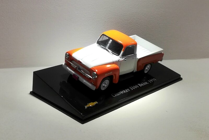 Chevrolet 3100 Brasil de 1959 (collection presse) 01