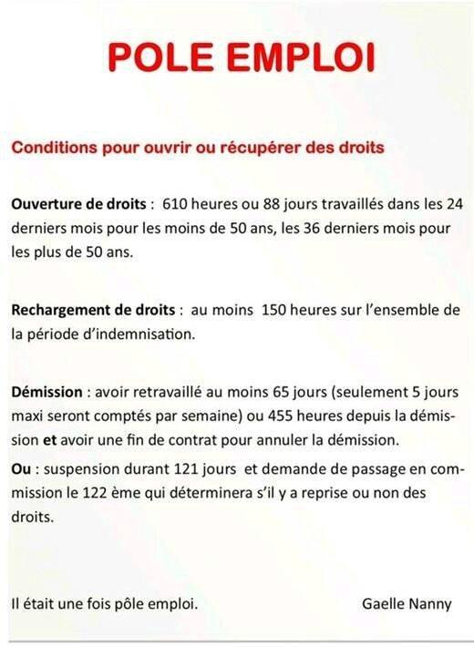 Ouverture Des Droits Pole Emploi Assistante Maternelle Argenteuil