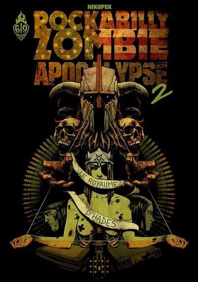 ankama rockabilly zombie apocalypse 02 le royaume d'hadès