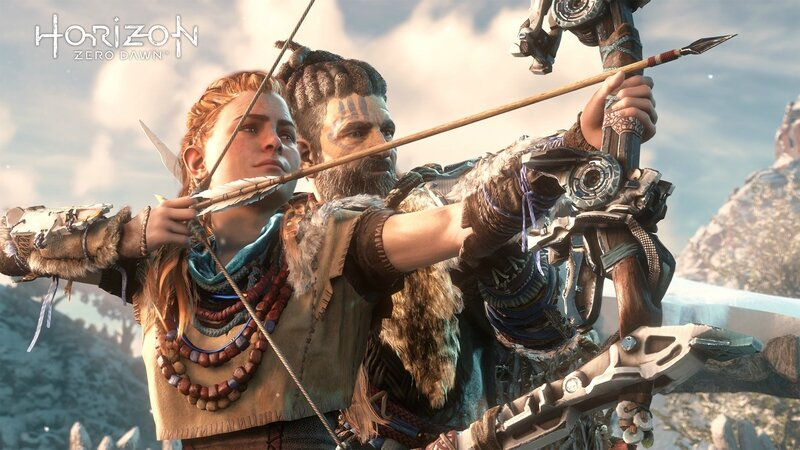 HORIZON ZERO DAWN (Exclusivité ps4)