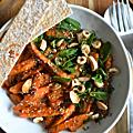 Salade de carottes, sauce chamoy